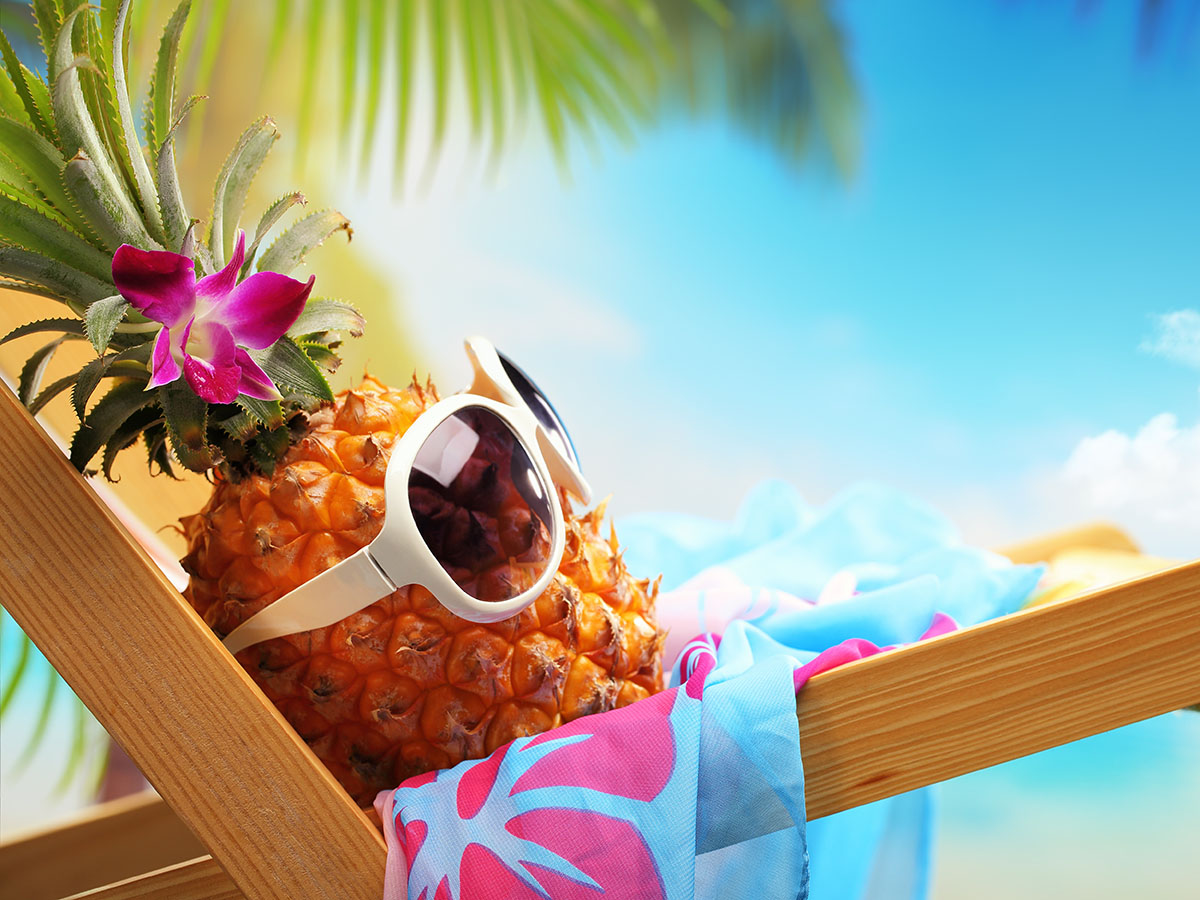 Pineapple vacation